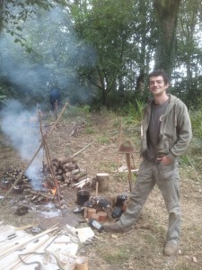 Bushcraft in Devon